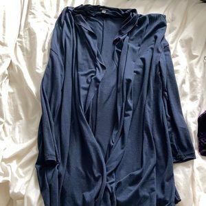 MANGO | navy thin cardigan